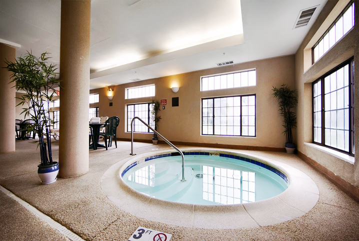 Indoor Hot Tub!